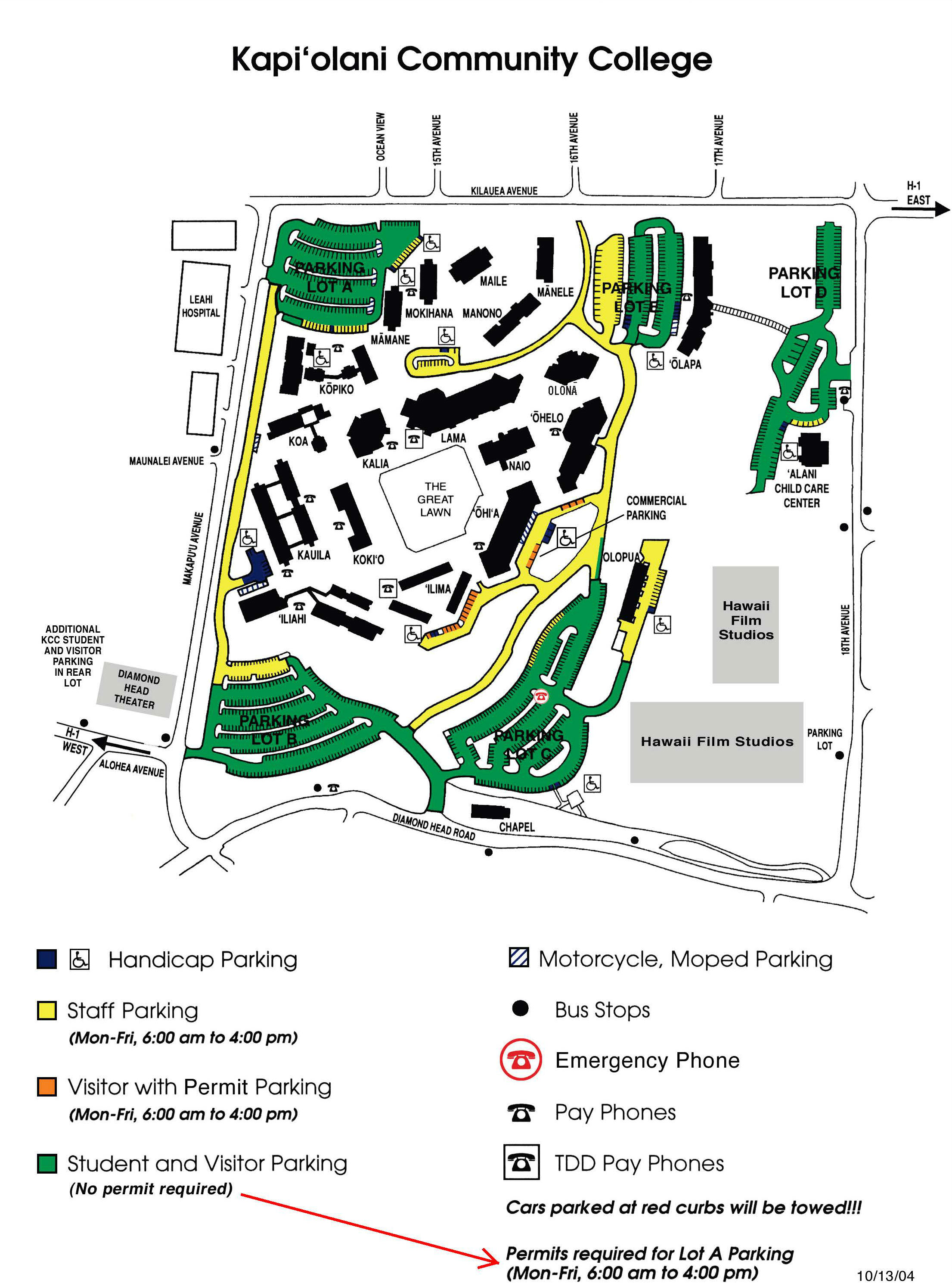 Kcc Campus Map Campus Map & Directions | Continuing Education Kcc Campus Map