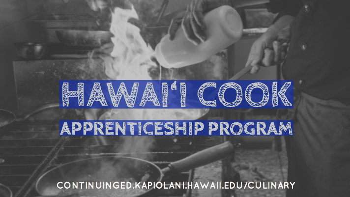 Hawai'i Cook Apprenticeship Program