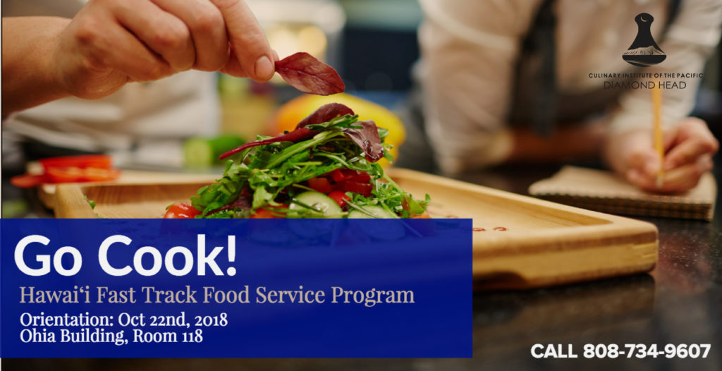 Go Cook! Hawai'i Fast Track Food Service Program