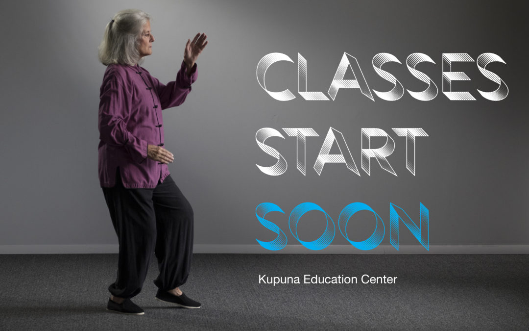 Active Aging Courses at Kupuna Education Center