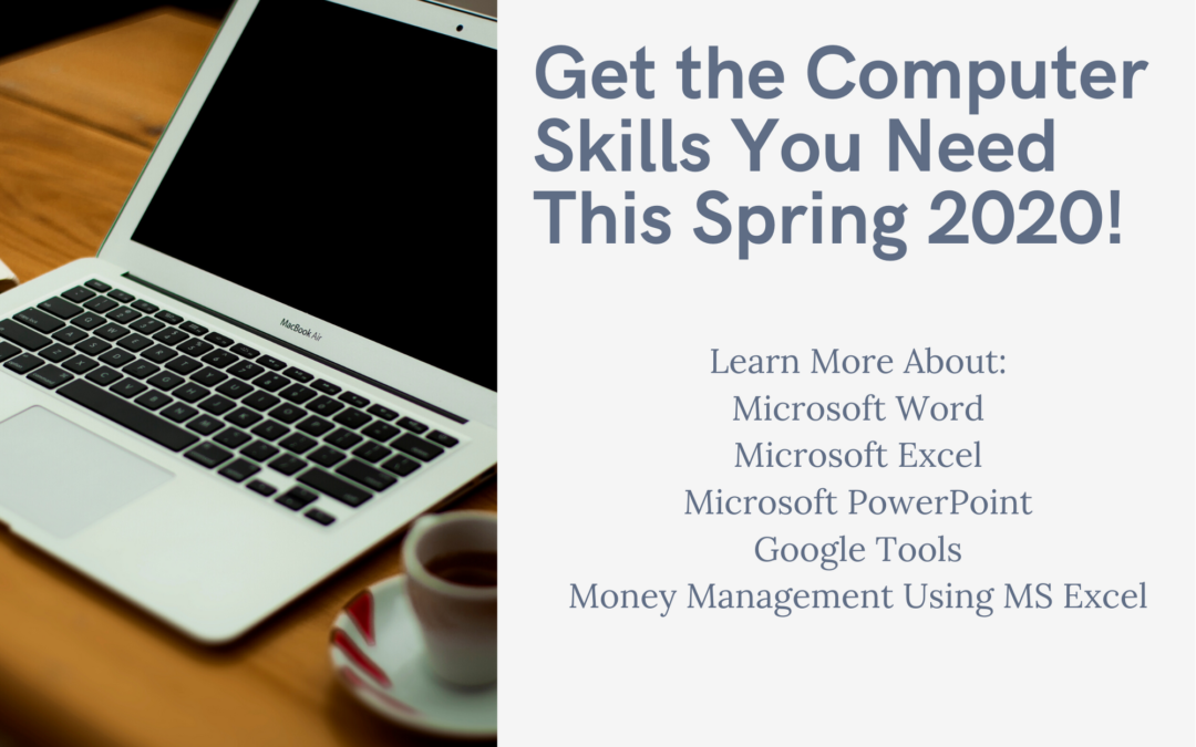 Computer Training for Spring 2020!